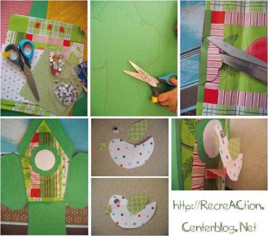 fabriquer une cabane a oiseau en carton. Black Bedroom Furniture Sets. Home Design Ideas